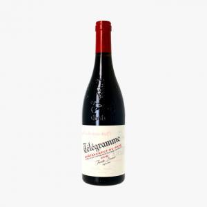 Domaine du Vieux Télégraphe Vin rouge cuvée Télégramme Châteauneuf du Pape 2018