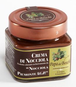 Pâte à tartiner Crème Gianduja noisettes IGP Piémont 250g