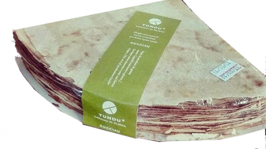Pane carasau cuît au feu de bois spécialité Sarde 250g