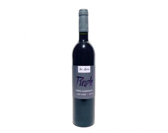 Château Les Apiès Vin rouge cuvée purple 2019